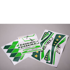 Decal Sheets U Can Fly Green hype 022-2102 #700217