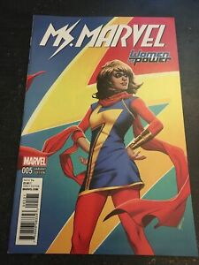 "Ms.Marvel#5 Incredible Condition 9.4(2016)""Women Of Power Variant"""