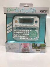 Brother Ptd215e P Touch Embellish Ribbon Amp Tape Label Printer