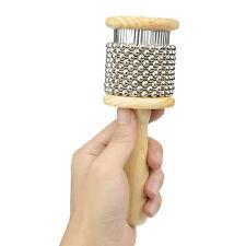 Wooden Latin Afuche Cabasa Handheld  Kabasa Rhythmic Percussion Shaker