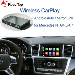 Wireless CarPlay Android Auto Interface for Mercedes Benz ML GL W166 2012-2015