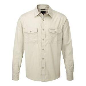 Craghoppers Outdoor Classic Mens Kiwi Long Sleeve Shirt CG180