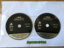 Resident evil 2 game Ps1 Sony PlayStation promo promotional