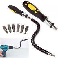 Snake Drill Bit Multifunction Extender Extends reach up to 12 inches with