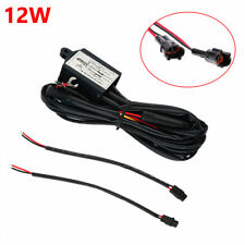 Car DRL LED Fog Light Automatic ON/OFF Controller Module Box Relay Harness Set