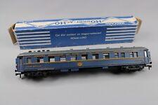 Z609 Hornby meccano train Ho 739 voiture restaurant CIWL 3668 bleu