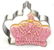 Crown 2-3/4 inch Metal Cookie Cutter
