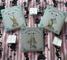 Alice in Wonderland estilo bolsa de té de papel de alta calidad titulares/Sobres
