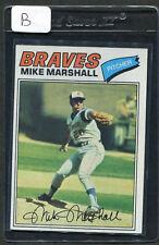 1977 Topps Mike Marshall #263 Braves NM (B)