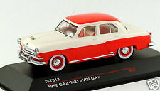 1/43 scale IST Models IST013 russian soviet GAZ M21 Volga sedan red beige MIB