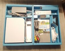 New listing Nintendo Wii White Game Console with Wii Sports Game Bundle Tested in Box!