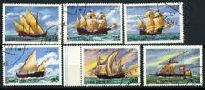 San Tommaso e il principe Isole 1979 Mi. 598-603 Usato 100% Barche a vela