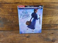 MARY POPPINS RETURNS (Disney) (4K+BLU RAY+Digital) TARGET EXCLUSIVE STORYBOOK