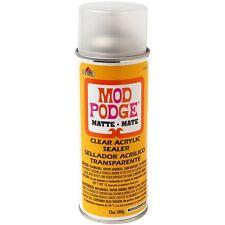 Mod Podge Clear Acrylic Sealer 12-Ounce, 1469 Matte