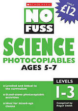 Science Photocopiables Ages 5-7 (No Fuss Photoco, VARIOUS, New