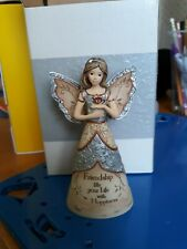 "Elements Angel ornament Friendship Pavillion Gift Co. Nib 66484382191 4.5"" tall"