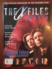 The X-Files Official Movie Magazine - Fight the Future - Summer 1998 - Free sgip