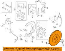 FORD OEM Front Brake-Disc Rotor DG9Z1125GA