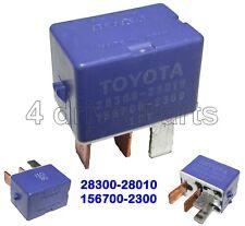 28300-28010 Genuine Toyota Lexus 12V Blue Starter Relay 4-Pin Denso 156700-2300