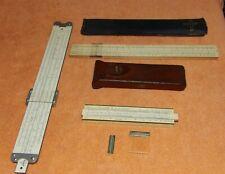 Vintage Slide Rule Lot, Dietzgen, Pickett & Engineering Instruments