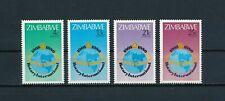 Zimbabwe  429-32 MNH,  Rotary International, 1980