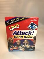 UNO Attack! Refill Deck -112 Cards - 2002 Mattel Games - New Sealed