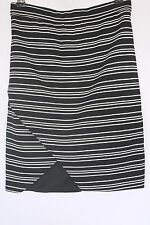 Woman's Black/White Stretch Skirt - Mooloola - Size 8 BNWT