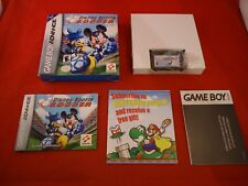 Disney Sports Soccer (Nintendo Game Boy Advance, 2002) COMPLETE w/ Box manual