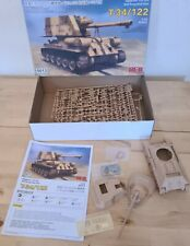 Rye Field Model T-34/122 TANK 1/35 5013 BOXED STARTED but complete