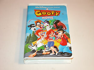 A GOOFY MOVIE 1995 VHS 4658 CLAMSHELL WALT DISNEY PICTURES PRESENTS LIKE NEW