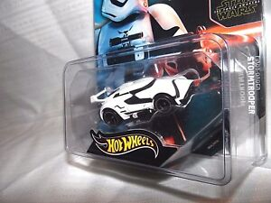 SDCC COMIC CON 2015 HOT WHEELS STAR WARS T.F.A. 1st ORDER STORMTROOPER TOY CAR