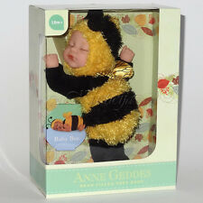"Anne GEDDES Dolls 'Bean riempito ""Raccolta Nuovo in Scatola Baby Bee Bambola 9"""