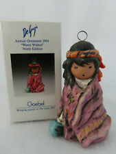 Warm Wishes 1994 Goebel DeGrazia Annual Ornament #534 - Mint