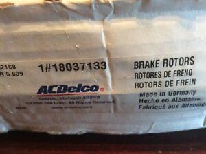 Ac Delco 18A739 Left Front Brake Rotor 82-85 Porsche 928
