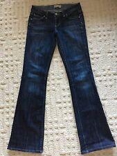 Paige Denim Women's Laurel Canyon Boot Cut Jeans 25 X 31 Low Rise Made in USA