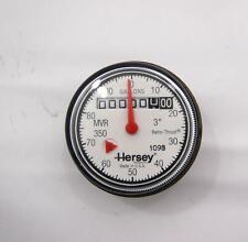 "Hersey 3 "" 100 Gallons Eau Jauge Mètre Mvr 350 Retro-Thrust"
