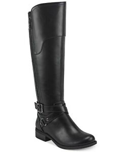 GBG Guess Los Angeles Haydin Riding Boots Black Size 6M Wide Calf