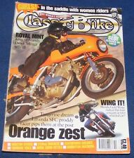 CLASSIC BIKE OCTOBER 1996 - ORANGE ZEST/ROYAL MINT/WING IT!
