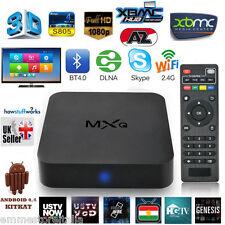 MXQ ANDROID 4.4 QUAD CORE XBMC INTERNET TV SMART BOX 1GB / 8GB DECODER IPTV EMM