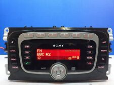FORD 6000 SONY MP3 radio cd player CODE FOCUS MONDEO GALAXY SMAX