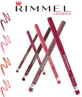 RIMMEL EXAGGERATE AUTOMATIC FULL COLOUR LIP LINER BRAND NEW **CHOOSE SHADE**