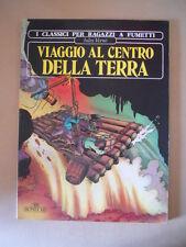 Viaggio al Centro della Terra Classici a fumetti Chiqui de la Fuente 1978 [G757]