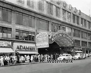 1950's Madison Square Garden New York New York 8 X 10 Photo Picture