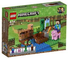 LEGO® Minecraft® 21138 Nether Abenteuer NEU & OVP Schwein Steve Creeper Dorfbewo