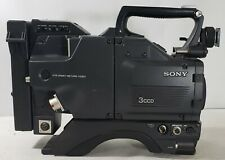 Sony DXC-537 3CCD TV Broadcast Camera - Body Only, No Lens