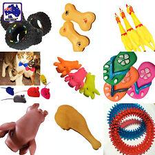 Pet Puppy Dog Chew Toys Squeaky Pig Rat Bone Chicken Leg Toy Fetch Game