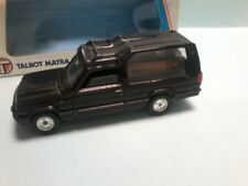 MODIFIED SOLIDO TALBOT RANCHO into a  HEARSE IN BLACK with coffin inside BOXED