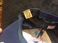 Logo 7 Men's Hat 1996 USA Atlanta Olympic Games Navy Blue Snapback Cap Vtg
