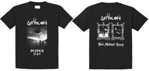 Satyricon - Dark Medieval Times T-shirt S,M,L,XL,XXL,neu, Darkthrone, Ulver