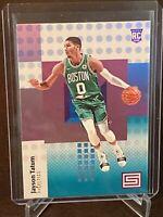 2017 - 2018 Panini Status Jayson Tatum Rookie 128 Boston Celtics Aqua SP RC